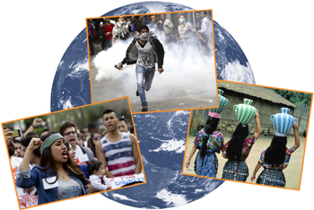 global collage