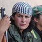Two Kurdish fighters