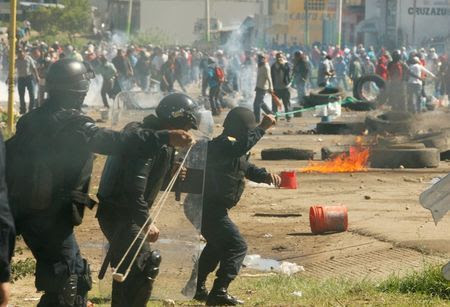 Repression in Oaxaca