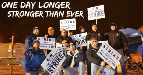 USW Strikers