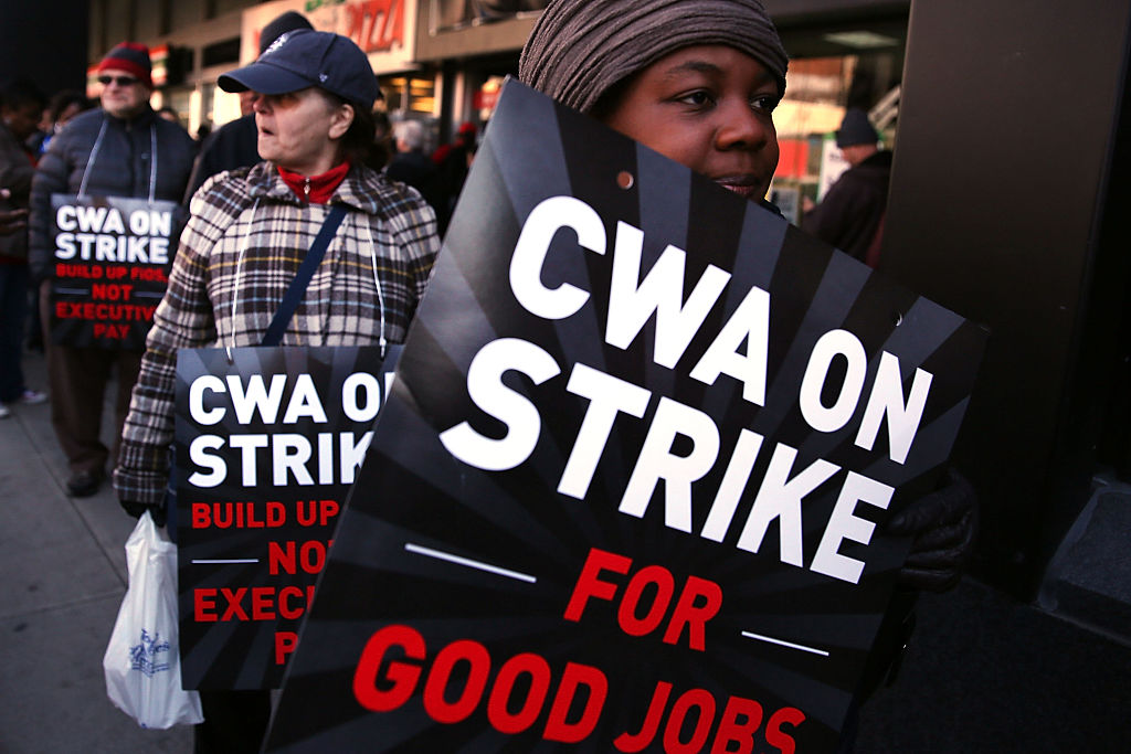 Solidarity with Verizon Workers